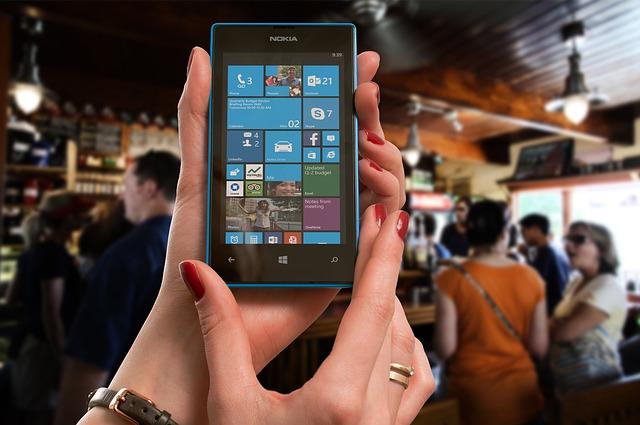 Mobiele telefoon lening